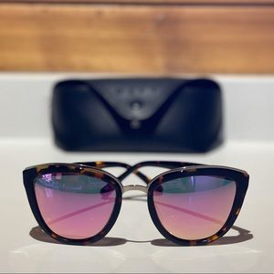 DIFF Eyewear Rose Styled & Colored Sunglasses